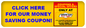 Country Club Service Coupon
