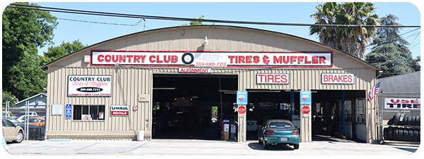 Country Club Tires & Muffler Service Footer